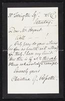 Letter to Mr. and Mrs. Robertson Scott (December 16, 1952)