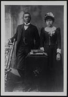 Grandpa Tom Todd and Grandma Eliza Walton Todd