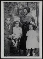 Aunt Bess, Uncle Charlie, and children Hazel and Charlene