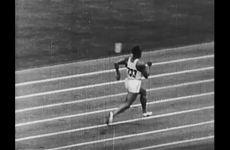 Track Footage of Jesse Owens