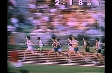Replay Footage of Jim Ryun's Fall in the 1500 Meter Race at the Munich Olympics
