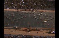 KU Marching Jayhawks [Band]: Performance at the KU v. University of Colorado Football Game
