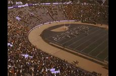 KU Marching Jayhawks [Band] and the Alumni Band: Performance at the KU v. University of Oklahoma Football Game