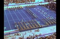 KU Marching Jayhawks [Band]: KU v. Oklahoma State University Football Game Halftime Performance