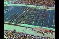 KU Marching Jayhawks [Band]: KU v. University of Pittsburg Football Game Halftime Performance