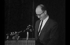 University of Kansas Centennial Celebrations: Jules Feiffer Address and Commencement Footage
